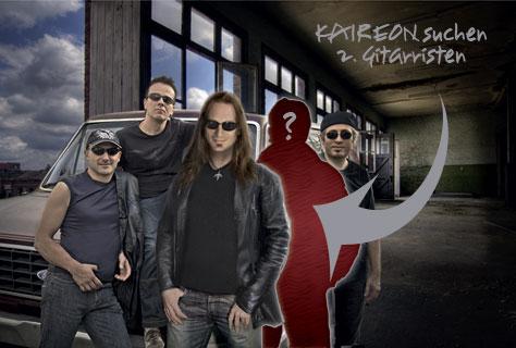 Kaireon weiter auf Gitarristensuche